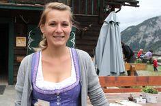 Ehrenamtliche Sennerin auf der Amoseralm: Die Münchner Arzthelferin Jessica Raisch verbringt ihre Sommerferien als Volunteer.
