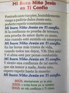 Mi Buen Niño Jesús en Tí Confío - Comunidad del Divino Niño Jesus