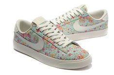 huge selection of c0ccc c72ef 1443   Nike Blazer Low Dam Jade Rosa Rosa Vit SE472003elVazkQk