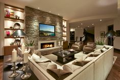 Check out these 24 amazing concepts for a designing a family room.