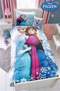 Superbe Frozen Bed Set From Next Frozen Bed Set, Frozen Room, Frozen Kids, Disney