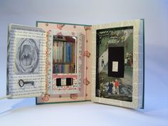 How to Altered Books | ... altered books Entombment (2008) With compartment opened. Altered book
