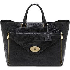 Mulberry - Black Envelop Tote. I love this!!!!