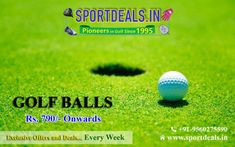 Golf Balls: Buy a great range of Golf Balls today and get discounts on the biggest brands when you shop at Sportdeals. To know more about us give a call @ Golf Wedges, Golf Stores, Taylormade, Golf Tips, Golf Ball, Golf Clubs, India, Balls