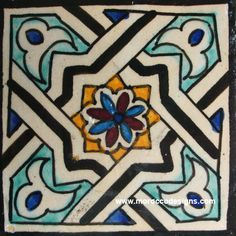 company specializing in Moroccan mosaic tiles, cement, bathroom, floor and kitchen tile. we carry moroccan tiles for home and business. Moroccan Art, Moroccan Tiles, Tile Art, Mosaic Tiles, Stenciled Floor, Granada, Spanish Tile, Tiles Texture, Stained Glass Designs