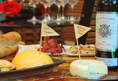 A Wine and Cheese Party for Your Bridal Shower!
