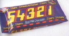 54321 chocolate bar
