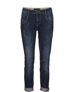 MOS MOSH // Nelly Dark Blue Jeans.