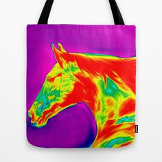 Digital Painting 3e Tote Bag by Horseaholic - $22.00