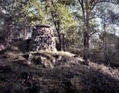 Catherines Furnace, left standing after the defeat of Chancellorville, Civil War. May 1-5 1863