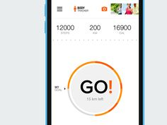 Pedometer for Sport.com by Vital Voronovich