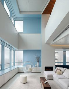 Mod and contemporary - very clean!    desire to inspire - desiretoinspire.net - Joel Sanders