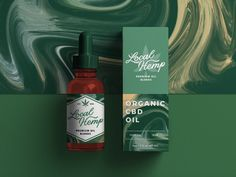 CBD Oil Packaging by Alex Spenser | Dribbble