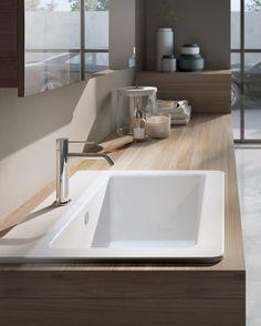 Mobile lavanderia componibile con specchio MAKE WASH 02 - LASA IDEA