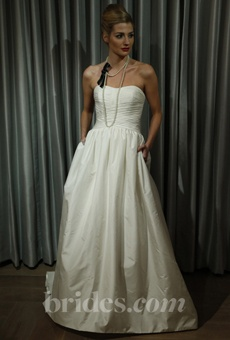 """Alyne """"Mel"""" gown on Brides.com from the """"Sip & Pin"""" event!"""