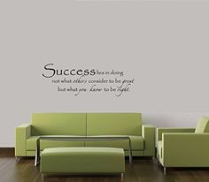 SUCCESS MOTIVATION MEANING DECAL WALL VINYL DECOR STICKER HOME QUOTE -- Find out more about the great product at the image link.