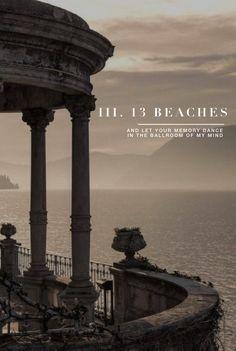 13 beaches Lana del Rey