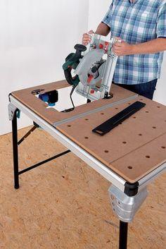 Wolfcraft 6900000 Master Cut 2000 Etabli de sciage pro multifonction Argent: Amazon.fr: Bricolage