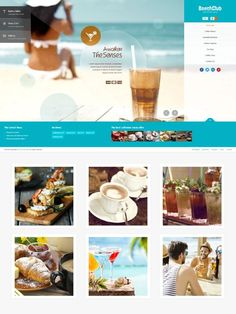 Fullscreen WordPress theme suitable for bars and café Beach Bars, Snack Bar, Business Website, Food Menu, Background Images, Sliders, Wordpress Theme, Layouts, Presentation