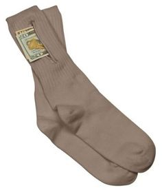 Travelon Security Socks with Hiidden Pocket