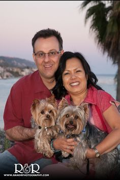 Beach Engagement Photography | Pet Engagement Photo | Laguna Beach, California