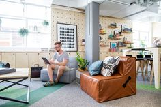 From new outposts in Singapore and So Paulo to its original San Francisco space, Airbnb taps locals to create its seriously swanky offices.