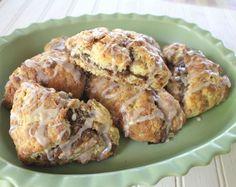 Triple Cinnamon Scones All    lake lure cottage kitchen