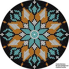 Image Article – Page 531143349802211677 Crochet Snowflake Pattern, Tapestry Crochet Patterns, Crochet Stitches Patterns, Weaving Patterns, Embroidery Patterns, Stitch Patterns, Native Beadwork, Native American Beadwork, Mochila Crochet