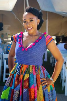 African Wear Dresses, African Fashion Ankara, Latest African Fashion Dresses, African Print Fashion, African Attire, Seshoeshoe Dresses, Sotho Traditional Dresses, South African Traditional Dresses, Traditional Outfits