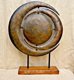 Escultura laton Genoves Atelier