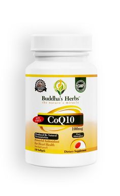 Buy Buddha's Herbs Premium Coenzyme Q10 softgels online. Amazon top seller. Free shipping on orders above $20. Money Back Guarantee. Buy now and save!