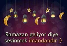 Ramazan geliyoor! #ÇokŞükür ! :))