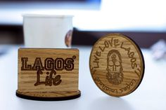 Live. Love. Lagos  Rep your city in these affordable handcrafted wooden coasters by Lagos Laidbac  #shopinlagos #lagoslaidbac #buyafrican #buyNigerian #proudlynigerian #discovercreativity