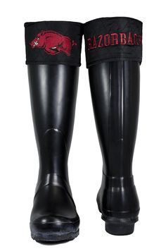 University of Arkansas  Boot Topper