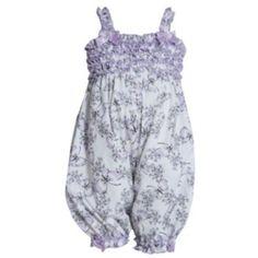 Bonnie Jean Ruffled Butterfly Romper - Baby
