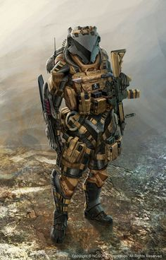 Character Art: SciFi/Modern Fantasy Pt Sorry for slowing down on the updates, been under the weather AND working. Futuristic Armour, Futuristic Art, Armor Concept, Concept Art, Ios 7 Wallpaper, Mekka, Sci Fi Armor, Future Soldier, Image Digital