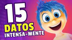 Intensa-Mente: 15 CURIOSIDADES de la pelicula de Pixar / Disney (en espa...