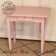 Mini skrivebord i Antique Rose Autentico