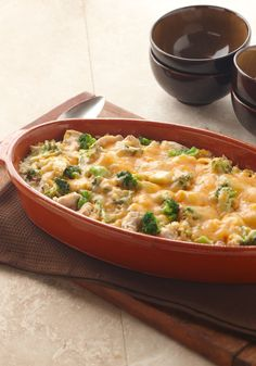 Easy Chicken & Rice Divan – Despite its restaurant roots, Chicken Divan can dress casual for your dinner table any night of the week. Try this easy spin on the classic for your family tonight!