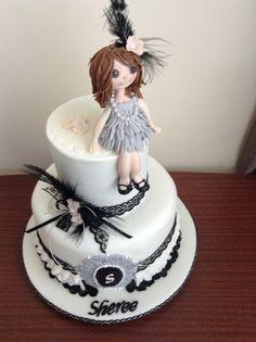 My delightful daughter birthday cake!