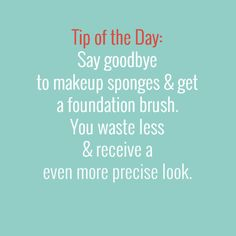 #tipoftheday #beautytips #foundation