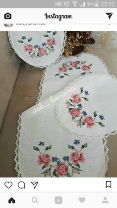 embrant ---- Tonka S. Home Crafts, Diy And Crafts, Easy Crochet Blanket, Bargello, Double Crochet, Cross Stitch Embroidery, Needle And Thread, Projects To Try, My Favorite Things