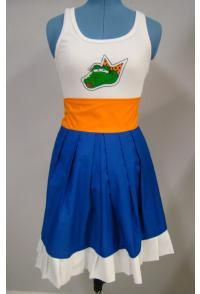 I really want to make an aggie version of this dress....