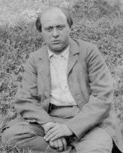 Composer and Painter Arnold Schoenberg