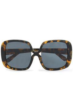 275697b5ac Square-frame tortoiseshell acetate sunglasses   KAREN WALKER   Sale up to 70%  off   THE OUTNET