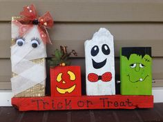 Trick or treat pallet creation