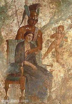 Ares, Aphrodite, Eros