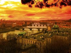 romantic Prague