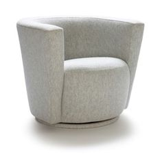 Berkeley Swivel Club Chair  MidCentury  Modern, Upholstery  Fabric, Club Chair by Michael Reeves Associates
