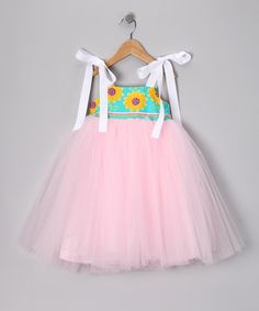 Take a look at this Bright Pink Floral Babydoll Dress - Toddler & Girls by Moo Boo's on #zulily today!